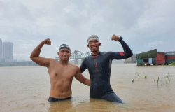 Bơi 200KM, Hà Nội – cửa biển Thái Bình