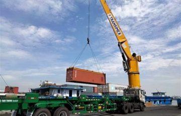 Giá cước vận chuyển container lại lên mức cao kỷ lục