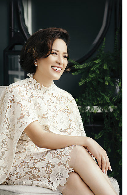 Bà Lê Thanh Hương, Tổng Giám đốc Menard Việt Nam