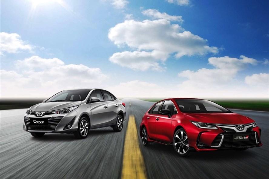 Sedan là một trong những dòng xe được ưa chuộng trong thị trường xe Việt hiện nay. Đồ hoạ: Lâm Anh